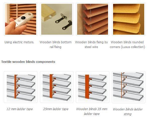 Wooden Blinds Ad Hotelska Oprema